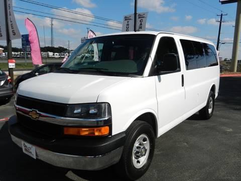 2015 Chevrolet Express Passenger for sale in Boerne, TX