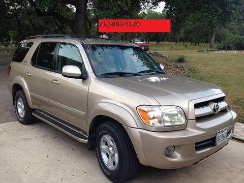 2007 Toyota Sequoia for sale in Boerne, TX