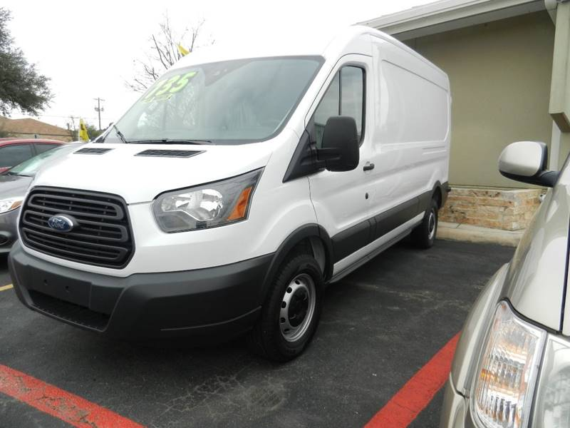 2016 Ford Transit Cargo 250 3dr LWB Medium Roof Cargo Van w/Sliding Passenger Side Door - Boerne TX
