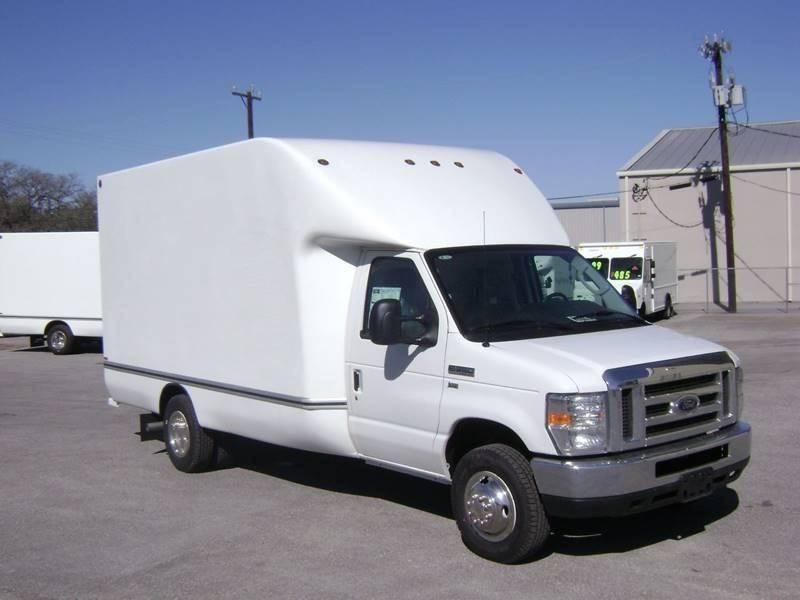 2017 Ford E-350 Aerocell Box Truck 158 in. WB Dual Rear Wheel - Boerne TX