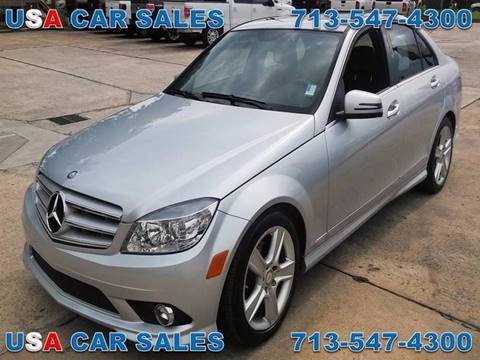 2010 Mercedes-Benz C-Class for sale in Houston, TX