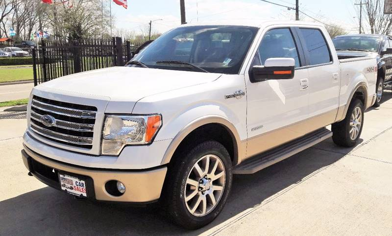 2014 Ford F150 4x4 King Ranch 4dr SuperCrew Styleside 55 ft SB