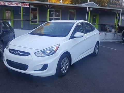 2017 Hyundai Accent for sale in Renton, WA