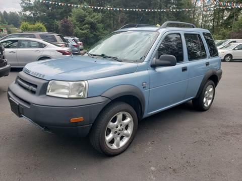 2002 Land Rover Freelander for sale in Renton, WA