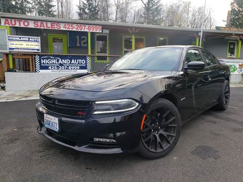 Highland Auto Sales >> 2018 Dodge Charger For Sale In Renton Wa