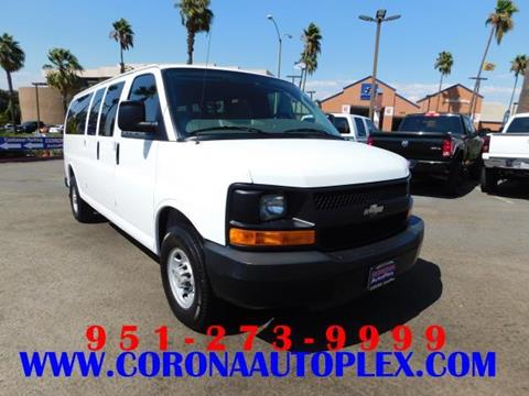 2009 Chevrolet Express Passenger for sale in Corona, CA