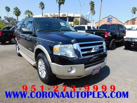 2008 Ford Expedition EL for sale in Corona, CA