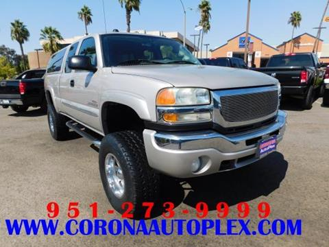 2004 GMC Sierra 2500HD for sale in Corona, CA