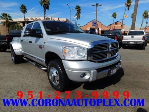2009 Dodge Ram Pickup 3500 for sale in Corona, CA