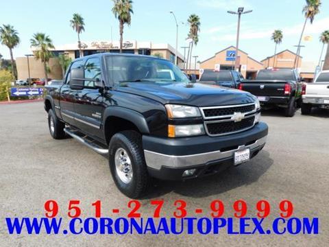 2006 Chevrolet Silverado 2500HD for sale in Corona, CA