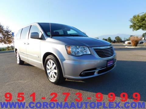 2015 Chrysler Town and Country for sale in Norco, CA