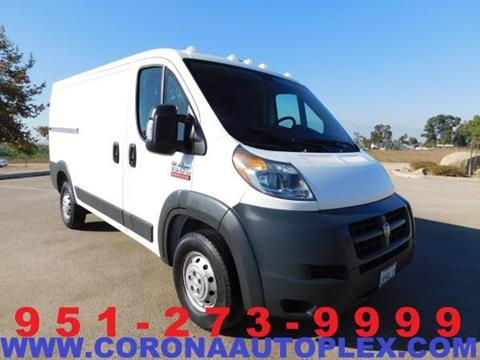 2017 RAM ProMaster Cargo for sale in Norco, CA