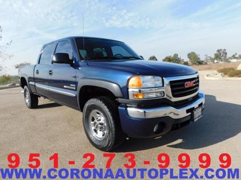2006 GMC Sierra 2500HD for sale in Norco, CA
