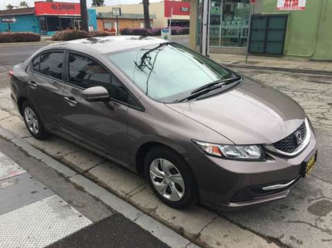 2014 Honda Civic for sale at Century Auto in San Jose CA