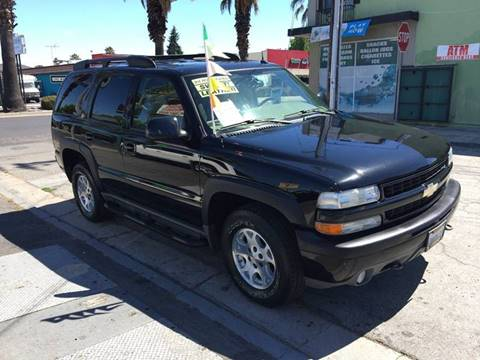 2004 Chevrolet Tahoe for sale at Century Auto in San Jose CA