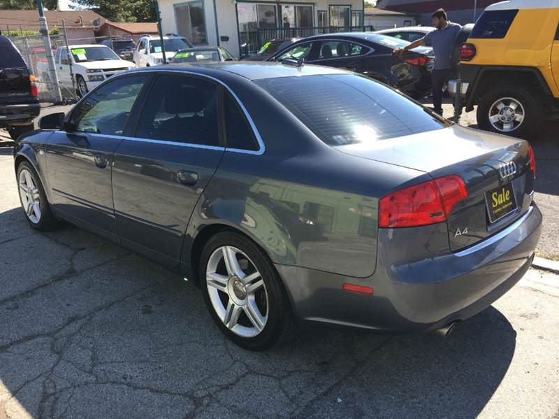 2005 Audi A4 for sale at Century Auto in San Jose CA