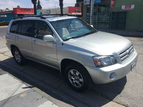 2005 Toyota Highlander for sale at Century Auto in San Jose CA