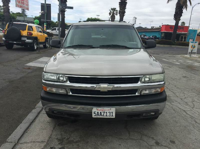 2003 Chevrolet Tahoe for sale at Century Auto in San Jose CA