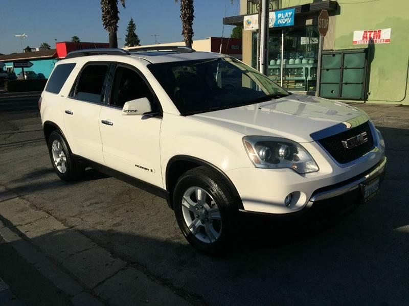 2007 GMC Acadia for sale at Century Auto in San Jose CA