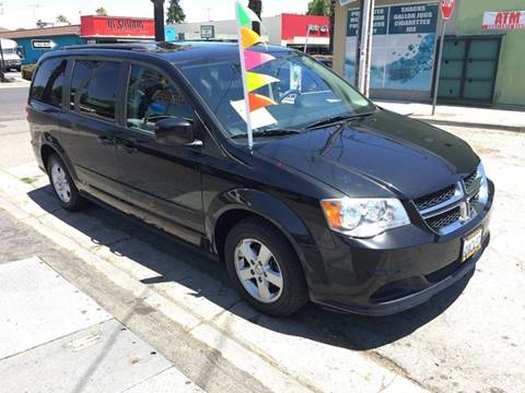 2012 Dodge Grand Caravan for sale at Century Auto in San Jose CA