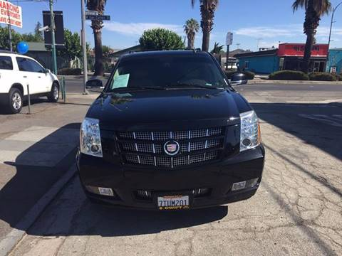 2012 Cadillac Escalade ESV for sale at Century Auto in San Jose CA