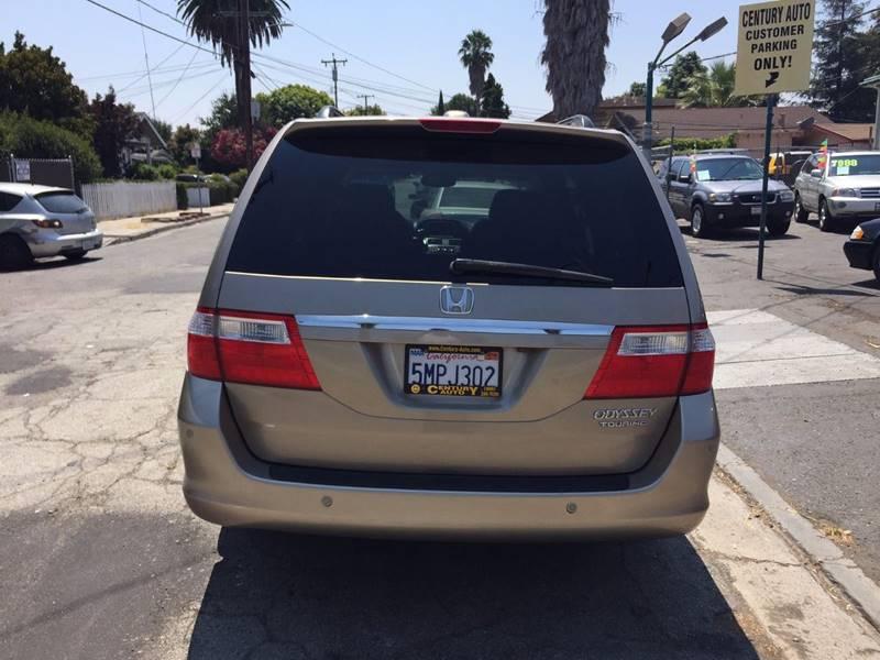 2005 Honda Odyssey for sale at Century Auto in San Jose CA