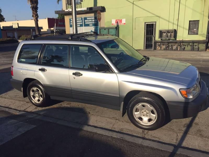 2002 Subaru Forester for sale at Century Auto in San Jose CA