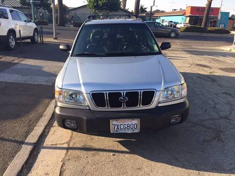 2002 Subaru Forester for sale at Century Auto in San Jose CA