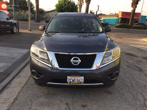 2014 Nissan Pathfinder for sale at Century Auto in San Jose CA