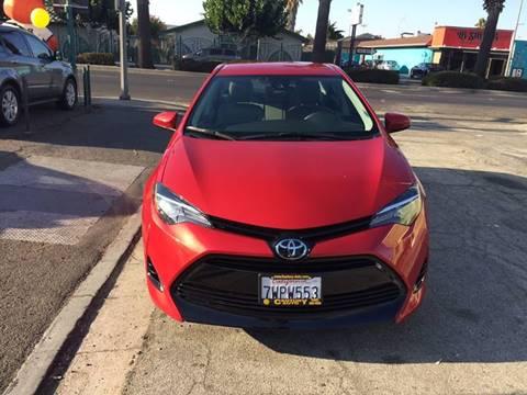 2017 Toyota Corolla for sale at Century Auto in San Jose CA
