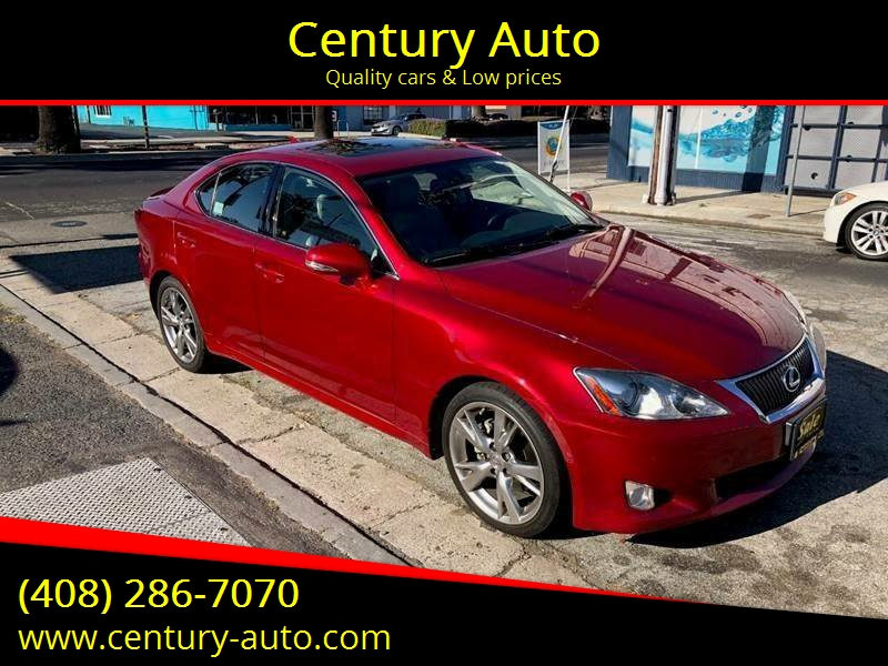 2010 Lexus IS 250 For Sale At Century Auto In San Jose CA
