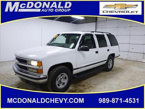 1998 Chevrolet Tahoe for sale in Millington, MI