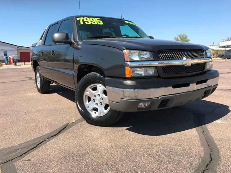 2004 Chevrolet Avalanche 4dr 1500 4WD Crew Cab SB - Mesa AZ