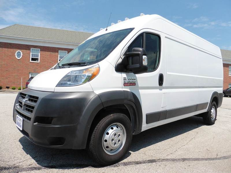 2016 RAM ProMaster Cargo 2500 159 WB 3dr High Roof Cargo Van - Chagrin Falls OH