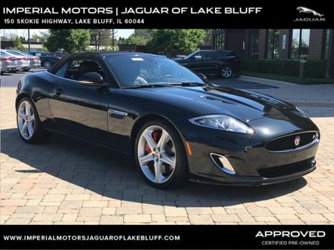 2015 jaguar xk for sale in lake bluff il