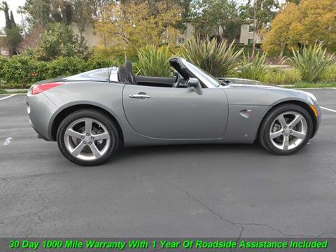 2007 Pontiac Solstice for sale in Escondido, CA