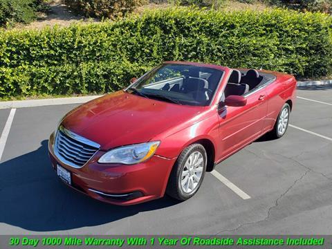 2012 Chrysler 200 Convertible for sale in Escondido, CA