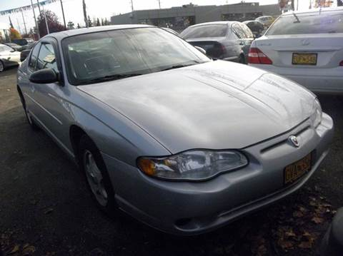 2004 Chevrolet Monte Carlo for sale at ALASKA PROFESSIONAL AUTO in Anchorage AK