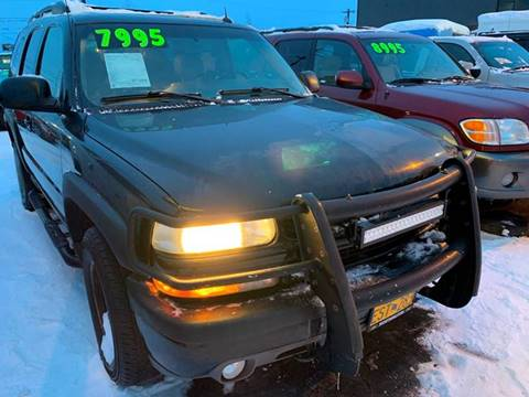 2004 Chevrolet Tahoe Z71 for sale at ALASKA PROFESSIONAL AUTO in Anchorage AK