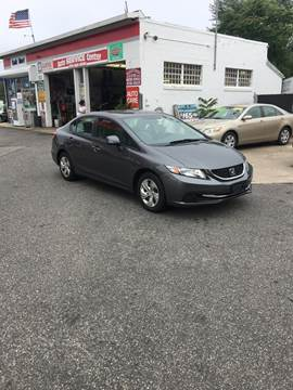 2013 Honda Civic for sale at 1020 Route 109 Auto Sales in Lindenhurst NY