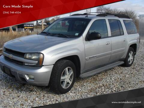 2004 Chevrolet TrailBlazer EXT LT for sale at Cars Made Simple in Union MO
