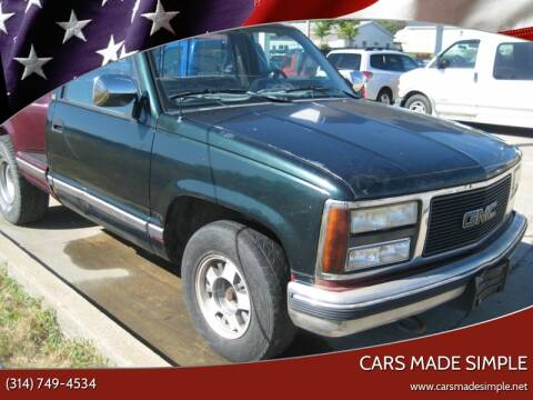 1990 Chevrolet C/K 1500 Series C1500 Silverado for sale at Cars Made Simple in Union MO