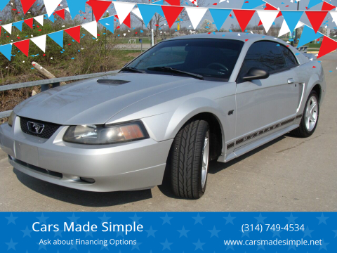 2000 Ford Mustang GT for sale at Cars Made Simple in Union MO
