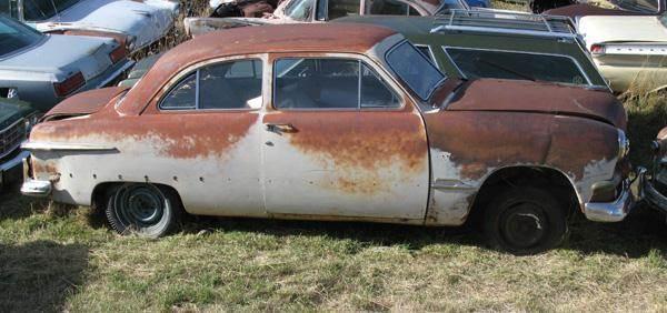 1951 Ford 2 Door Sedan for sale at MOPAR Farm - MT to Un-Restored in Stevensville MT