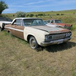 1964 Plymouth Fury for sale at MOPAR Farm - MT to Un-Restored in Stevensville MT