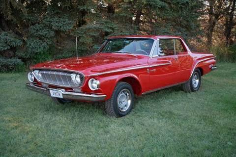 1962 Dodge Dart 330  413 Max Wedge for sale at MOPAR Farm - MT to Restored in Stevensville MT