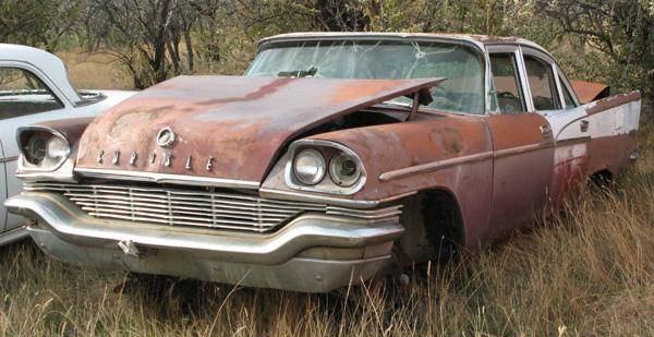 1957 Chrysler Windsor for sale at MOPAR Farm - MT to Un-Restored in Stevensville MT