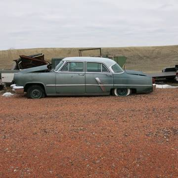 1954 Lincoln Capri for sale at MOPAR Farm - MT to Un-Restored in Stevensville MT