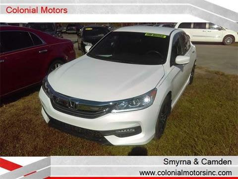 2016 Honda Accord for sale in Smyrna, DE