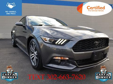 2016 Ford Mustang for sale in Smyrna, DE